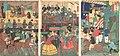Bushu Yokohama gaikokujin yūkyō no zu-A View of the Amusements of the Foreigners in Yokohama, Bushu MET DP148055.jpg