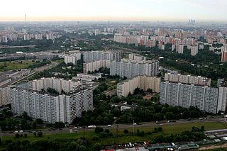 Zapadnoye Degunino District District in Moscow, Russia