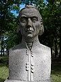 Bust of László Kelemen by László Deák in Kecskemét, 2016 Hungary.jpg