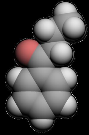 Butyrophenone - Image: Butyrophenone 3d
