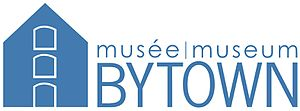 Bytown Museum - Image: Bytown Logo Blue 2012