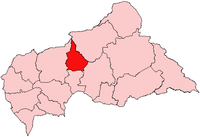 Nana-Grébizi, prefecture of Central African Republic