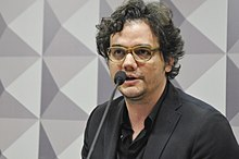 Wagner Moura - the cool, nice,  actor  with Brazilian, Portuguese,  roots in 2019