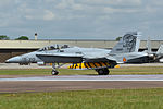 CE15-01 McDonnell Douglas EF-18B(M) Hornet Spain - Air Force (14909421768).jpg