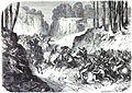 COMBAT DE SAN-PABLO DEL MONTE. Mort du commandant Aymard de Foucault. — D'après un croquis de M. Cabot.jpg