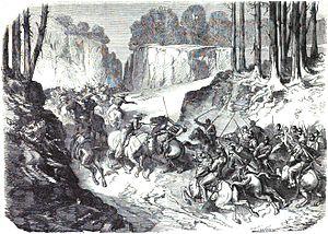 Battle of San Pablo del Monte - Battle of San Pablo del Monte: Death of commander Aymard de Foucauld.