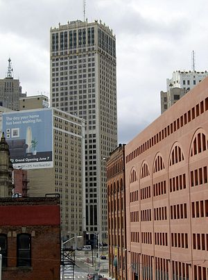 Cadillac Tower - Image: Cadillac Tower Detroit