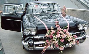 Automobile folklore - Wedding Transport