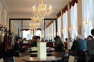 Viennese coffee house - Café Dommayer in Vienna