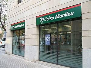 Caixa Manlleu branch in Sabadell; see also Sav...