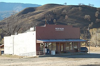 California Historical Landmarks in Kern County - Image: Caliente California Post Office Kern County