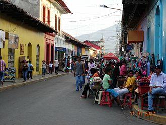 Granada, Nicaragua - Atravesada street
