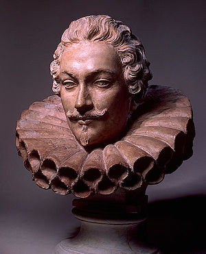 Camillo Francesco Maria Pamphili - Bust of Camillo Francesco Maria Pamphili by Alessandro Algardi (c. 1647).