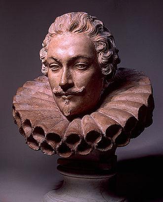 Camillo Francesco Maria Pamphili - Bust of Camillo Francesco Maria Pamphili by Alessandro Algardi (c. 1647).