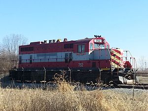 Camp Chase Industrial Railroad - Camp Chase Industrial Railroad engine no. 752