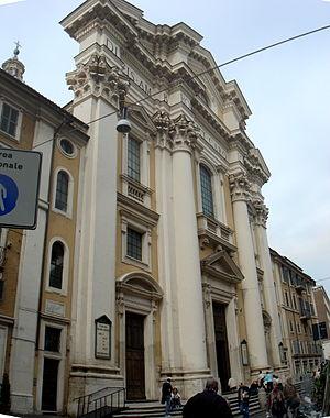 San Carlo al Corso - Image: Campo Marzio san Carlo al Corso 01665 6