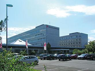 RheinMain University of Applied Sciences - Campus Rüsselsheim main entrance