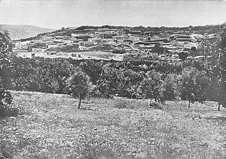 Cana - Cana of Galilee. Holy Land Photographed by Daniel B. Shepp. 1894