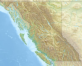 Pukeashun Mountain is located in British Columbia