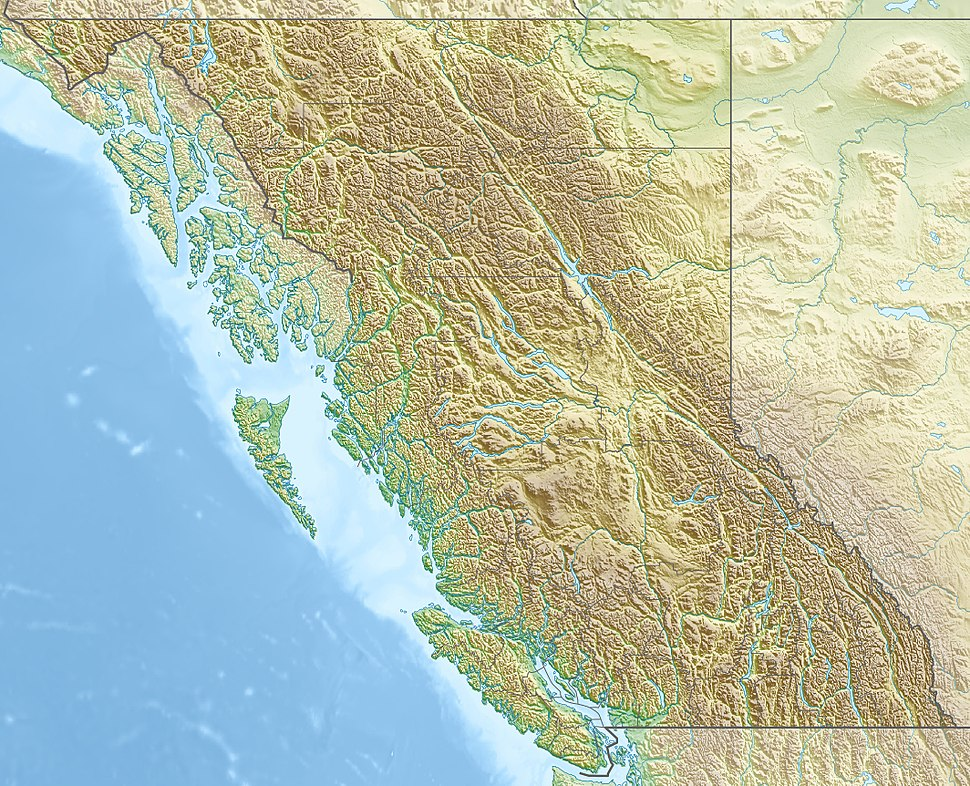 Great Bear Rainforest is located in British Columbia