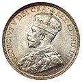 Canada Newfoundland George V 50 Cents 1917-C (obv).jpg
