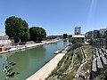 Canal St Denis vu depuis Pont Stains Aubervilliers 1.jpg