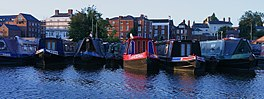 Canal boats at Stourport Basin.jpg