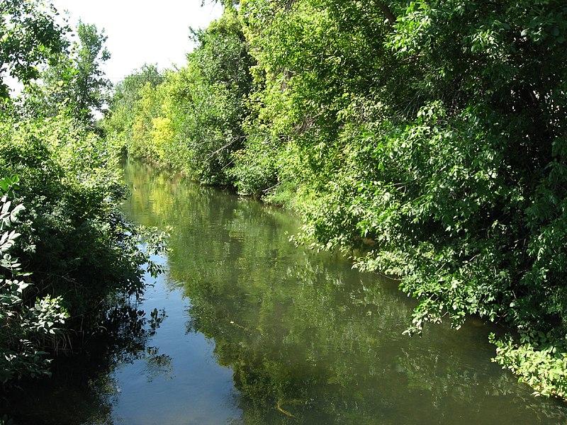 File:Canal in Rexburg, Idaho (1165486594).jpg