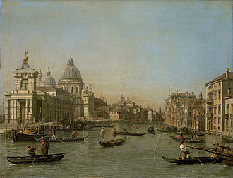 Timeline of Venice - The Grand Canal in Venice, c. 1730