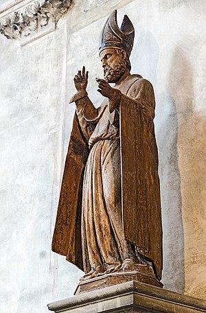 Proculus of Verona - Saint Proculus in San Zaccaria 1451