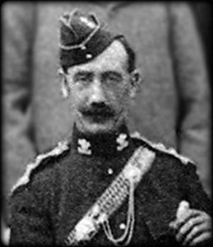 Charles Kavanagh - Pictured as Adjutant to the 6th Yeomanry Brigade in 1899.