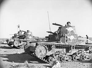 Attack on Nibeiwa, 9 December 1940 - Image: Captured Italian tanks 005042