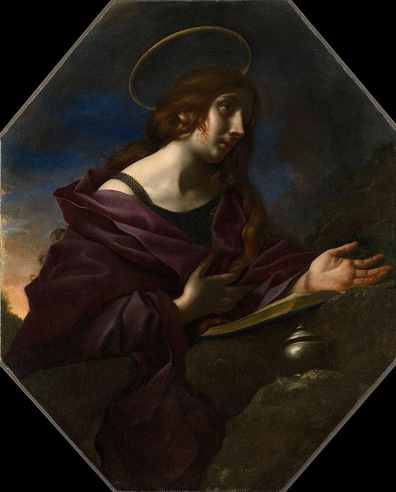 Карло Дольчи (Флоренция 1616-86) - Кающаяся Магдалина - RCIN 405546 - Royal Collection.jpg
