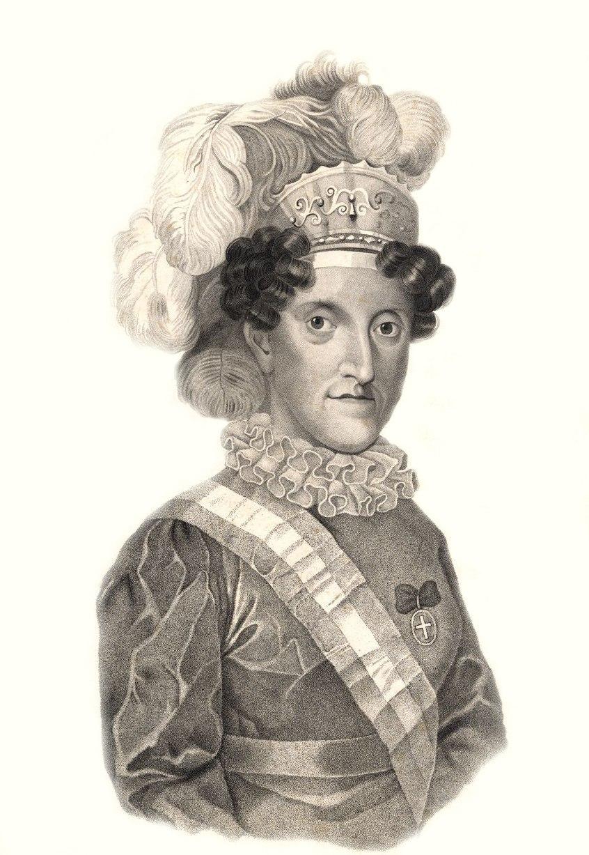 Carlota Joaquina por Manuel António de Castro