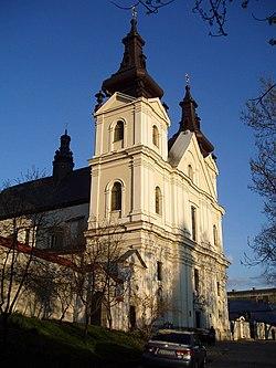 Carmelite church in Lviv, Vynnychenka Street (01).jpg