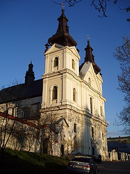 Carmelite church in Lviv, Vynnychenka Street (01).jpg