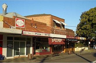 Carss Park, New South Wales -  Carss Park Shops, Carwar Avenue