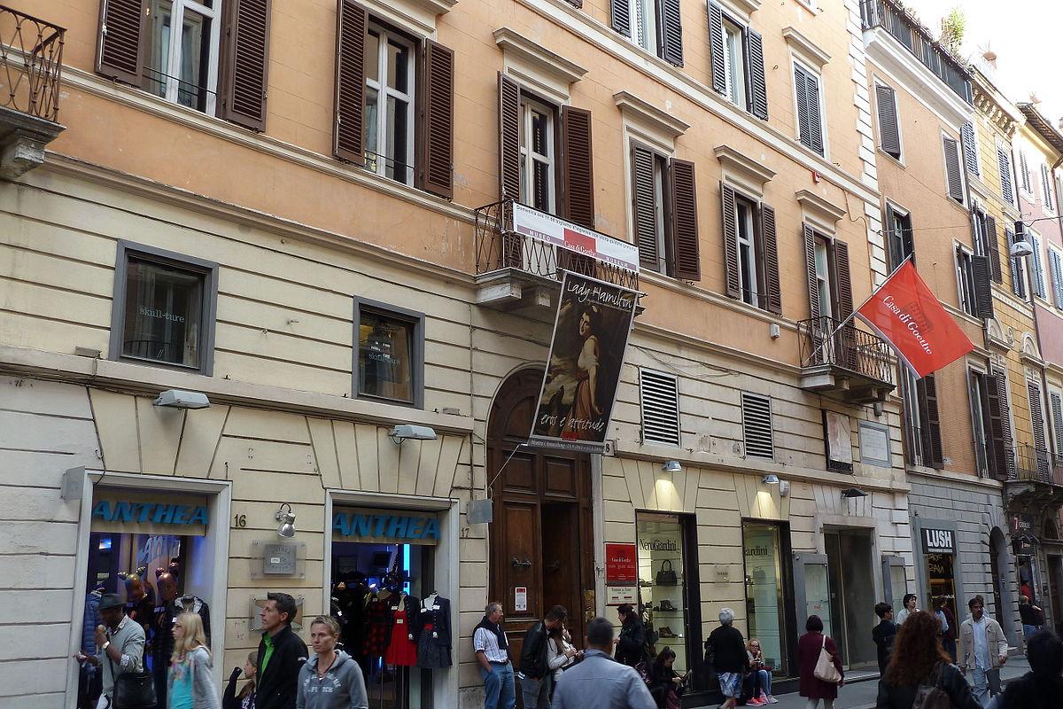 Casa di goethe wikipedia for Corso grafica roma