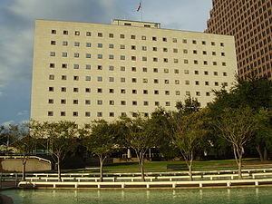 United States District Court for the Southern District of Texas - Bob Casey Federal Courthouse in Downtown Houston