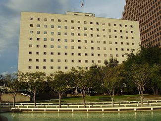 Bob Casey Federal Courthouse in Downtown Houston