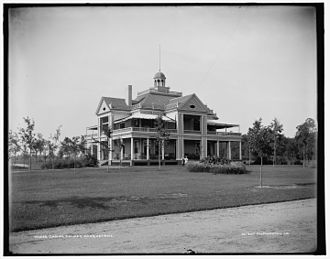 Palmer Park (Detroit) - Casino in Palmer Park, taken between 1890 and 1901