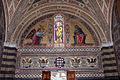 Castello di brolio, san jacopo, int., mosaici di augusto castellani, 1878, 01.JPG