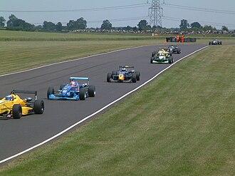 Castle Combe Circuit - British Formula Three cars in 2003