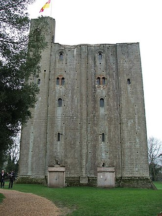 Earl of Oxford - Hedingham Castle in Essex, primary seat of the Earls of Oxford