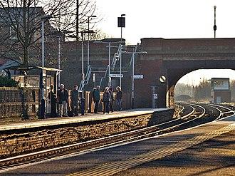 Castleton, Greater Manchester - Castleton railway station lies on the Caldervale line.
