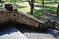 Catacomb columbarium City of London Cemetery, north steps 3.jpg
