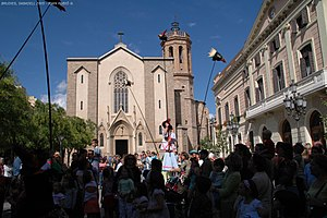 Sabadell - Plaça de Sant Roc in Sabadell