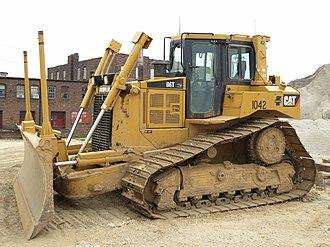 Caterpillar D6 - A Caterpillar D6T in St. Louis