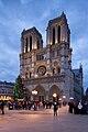 Cathédrale métropolitain Notre-Dame, Paris le 1 janvier 2014.jpg