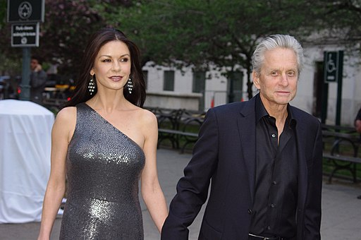 Catherine Zeta-Jones Michael Douglas 2012 Shankbone
